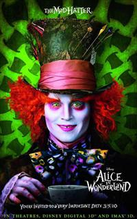 alice in wonderland movie poster image