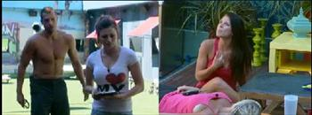 rachel and daniele fight on big brother 13
