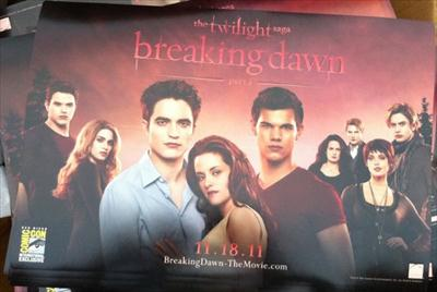 twilight breaking dawn cast poster