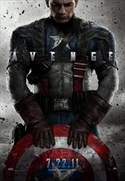 captain america movie poster image