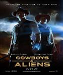 small cowboys and aliens movie poster image