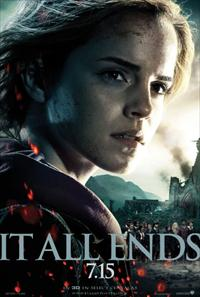 emma watson deathly hallows 2 movie poster image
