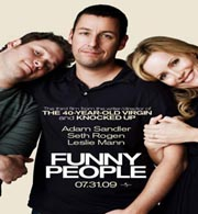 funny people movie poster image