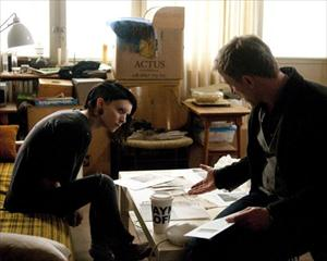 daniel craig,rooney mara,girl with the dragon tattoo movie image