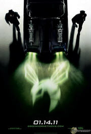 green hornet movie poster  image