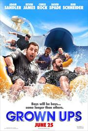 grown ups movie poster image