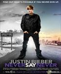 justin bieber: never say never movie poster image