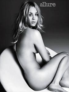 kaley cuoco nude for allure magazine