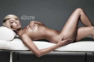 keri hilson nude for allure magazine