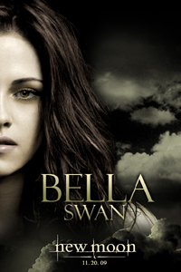 new moon bella swan movie poster image