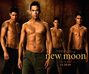 new moon wolf pack movie poster image