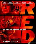 red movie poster  image