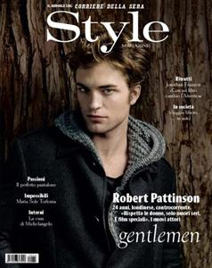 robert pattinso on style magazine image