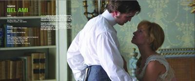 robert pattinson with uma thurman in bel ami image