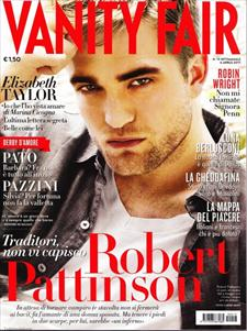 robert pattinson on vanity fair magazine cover