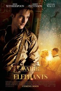 robert pattinson,water for elephants movie poster image