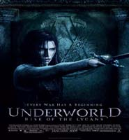 underworld rise of the lycans movie poster pic