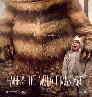 where the wild things are movie poster image