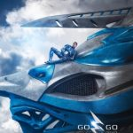 New Power Rangers 2017 Movie Released 9th Poster Featuring Blue Ranger Action