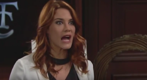 'Bold And The Beautiful' Sally Spectra Is About To Get Really Violent Again This Week