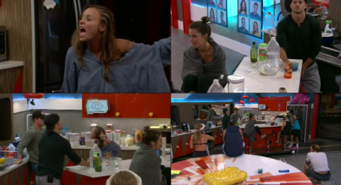 Big Brother 20 Kaitlyn Started Another Fight Plus POV Ceremony Results Revealed July 16, 2018