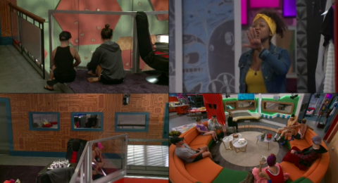 Big Brother Season 20 Bayleigh And Tyler Exploded Into A Major Fight Today, August 8, 2018