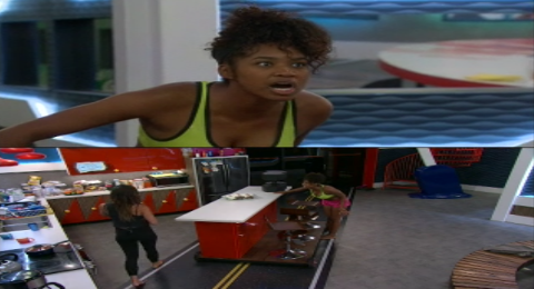 Big Brother Season 20 Bayleigh Started Up Another Fight With Angela Last Night August 8, 2018