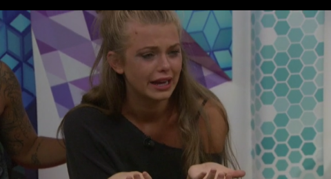 Big Brother Season 20 Haleigh Broke Down In Extreme Tears Again Yesterday August 19, 2018