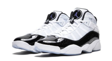 New Air Jordan 6 Rings White And Black Color Way Shoes Are Available Now