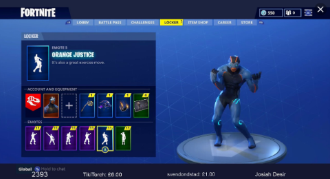 Fortnite Is Reportedly Getting Sued Again For 'Orange Justice' Dance