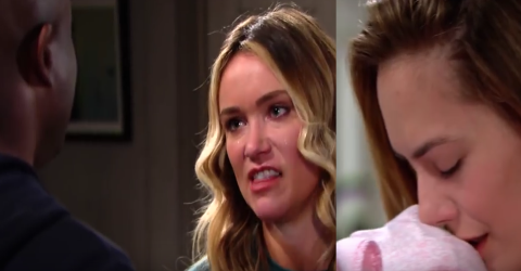 'Bold And The Beautiful' Florence Vows To Tell Hope Her Baby Was Stolen This Week