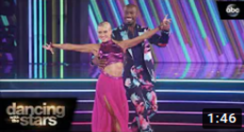 Dancing With The Stars October 19, 2020 Eliminated Vernon Davis & Peta Murgatroyd (Recap)